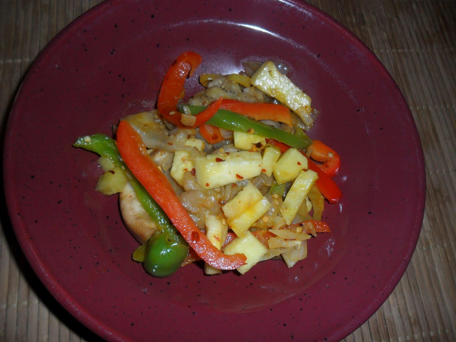 Spicy Sweet & Sour Eggplant Recipe | B Renewed Wellness Center